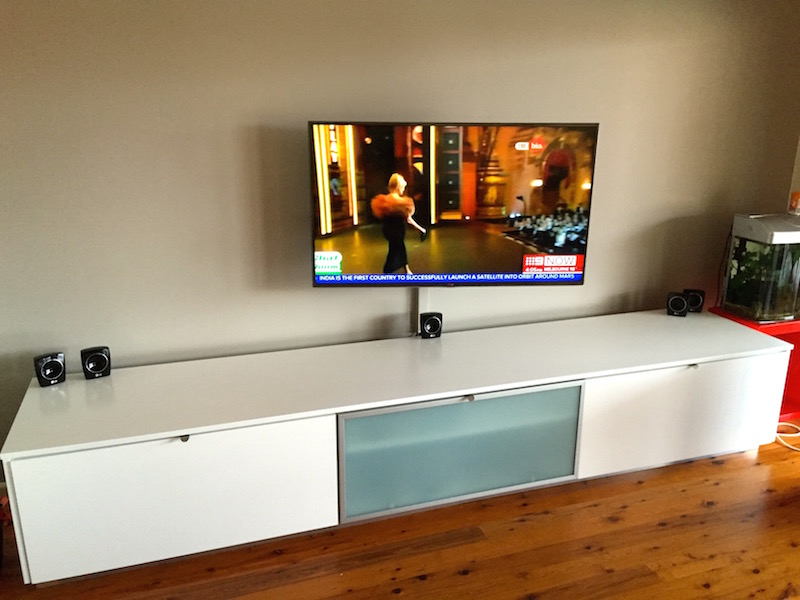 TV installation Seaforth Northern Beaches Sydney1