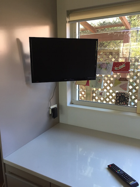 Kitchen Tv Wall Mount And Tuned Willoughby Lower North Shore
