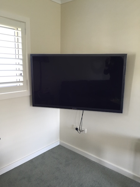 Television Wall Mounting Curl Curl Northern Beaches