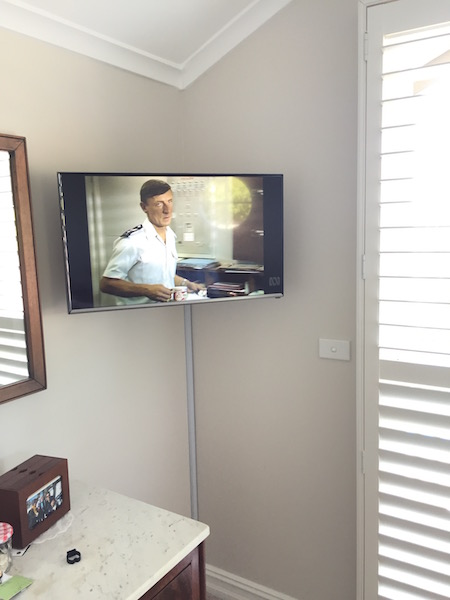 Bedroom TV Installation Mosman