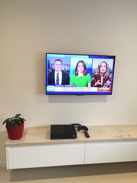 TV Wall Mount Fairlight Northern Beaches