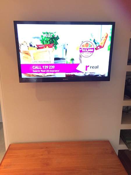 Sony TV wall mounted and installed North Shore Sydney