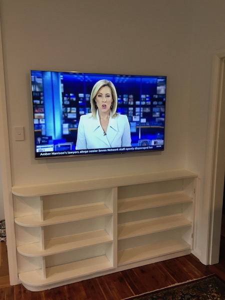 Television Wall Mounting Narrabeen Northern Beaches Sydney