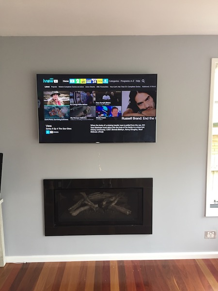 Samsung TV Wall Mounted Terrey Hills Northern Beaches
