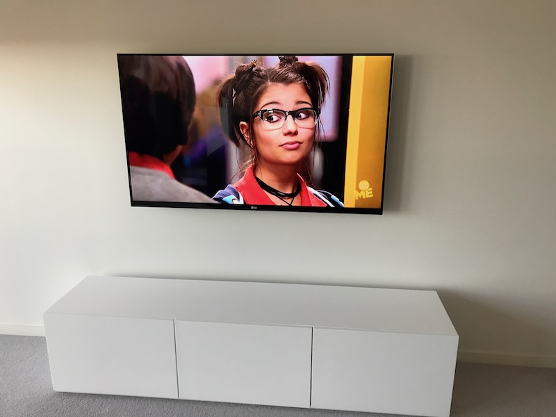 Television Wall Mounting and Installation Service North Sydney