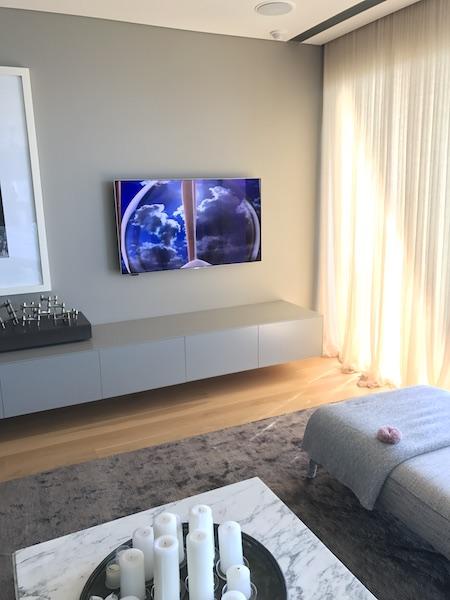 Samsung TV Wall Mounting in Palm Beach Sydney