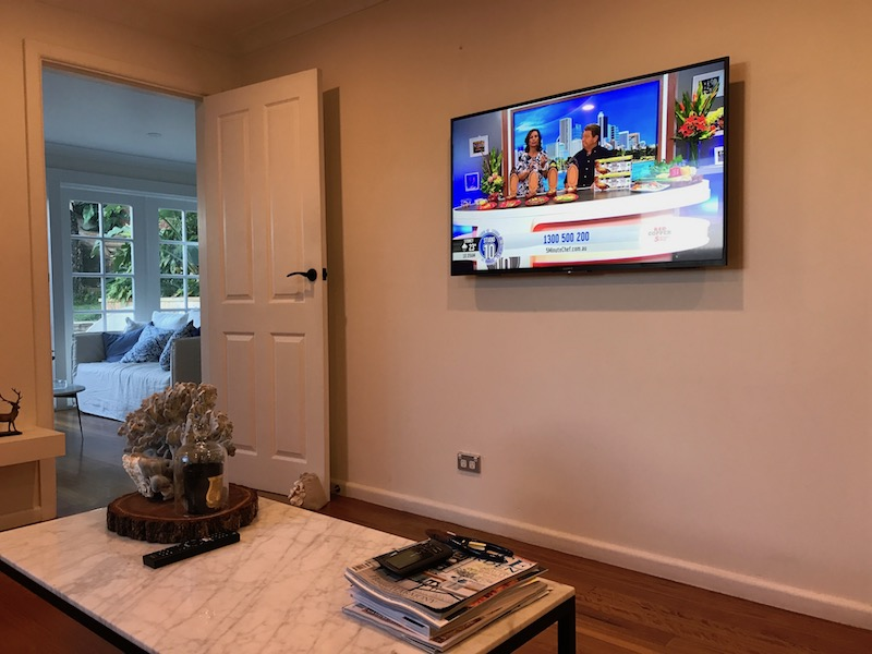 Sony TV Wall Mounting and Installation Sydney