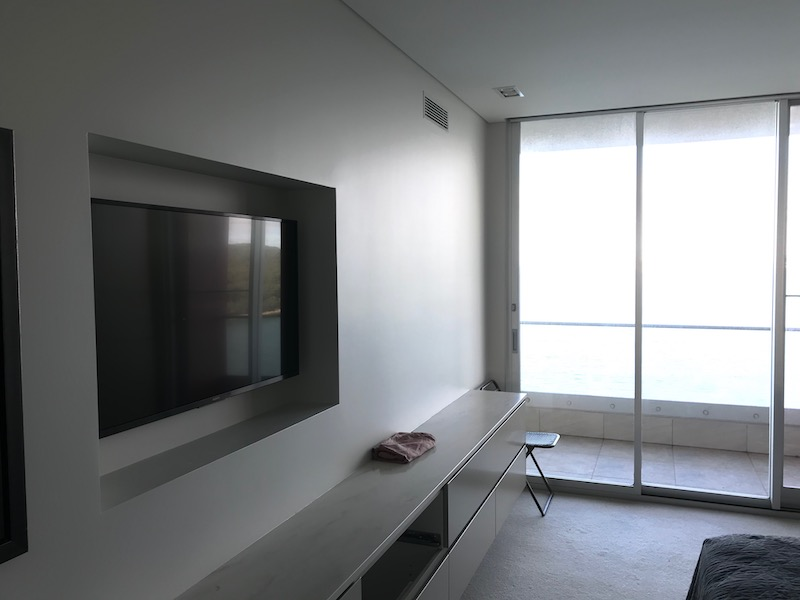 TV Wall Mounting in Bedroom Fairlight Sydney