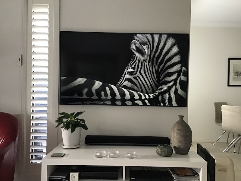 Samsung The Frame Wall Mounting In Warriewood Sydney