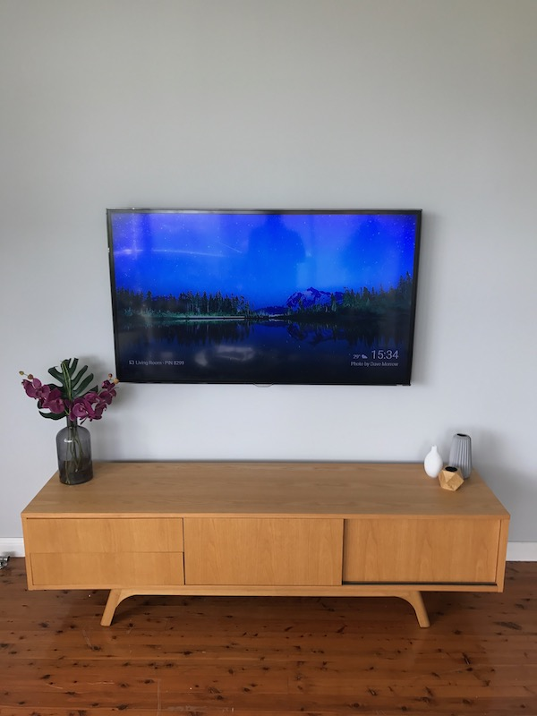 Television Wall Mounting Northern Beaches Sydney